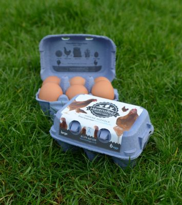 Two boxes of Havensfield Suffolk large eggs
